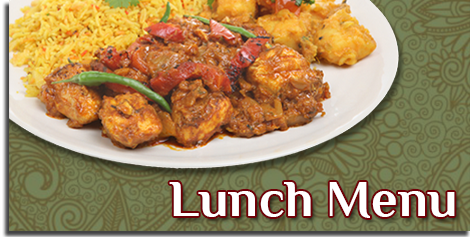 Indian Lunch Cuisine Menu